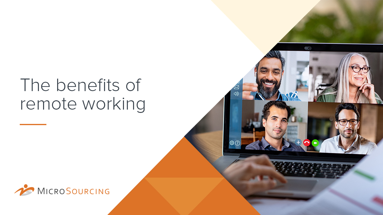 The benefits of remote working