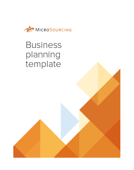 Grow and scale with this simple business planning template.