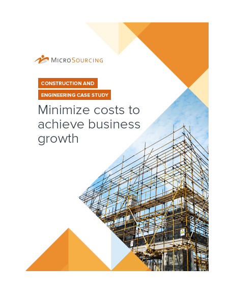 Construction and engineering case study: Minimize costs to achieve business growth
