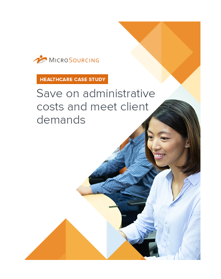 Healthcare case study: Save on administrative costs and meet client demands