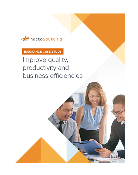 Insurance case study: Improve quality, productivity and business efficiencies