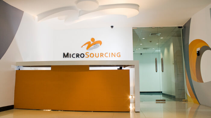 MicroSourcing Offices at Eastwood City