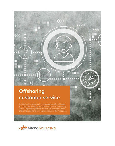 Offshoring customer service
